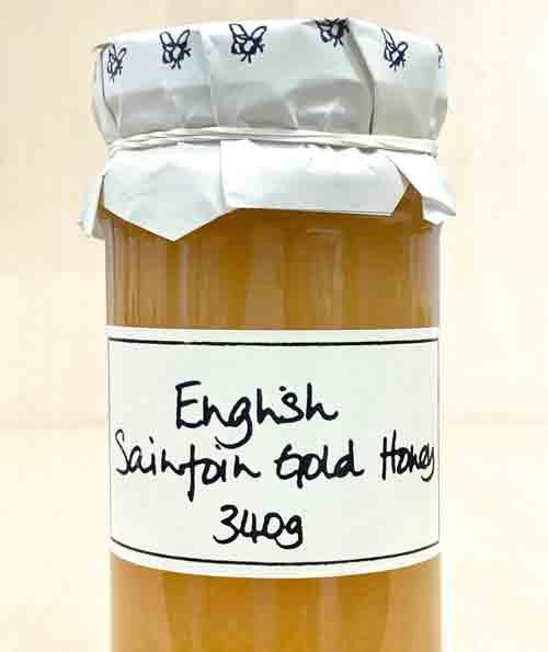 Sainfoin Gold English honey