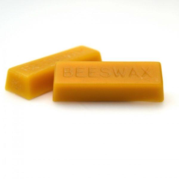 Pure British Food grade beeswax block