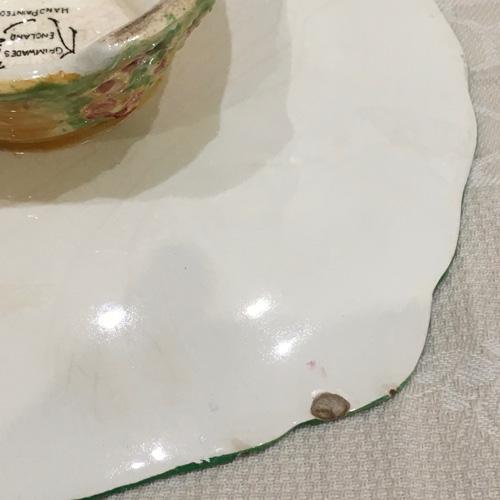 Original Royal Winton 'Beehive' Plate – 1930s