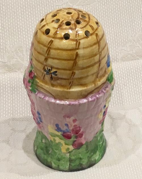 Royal Winton Mauve 'Beehive' Sugar Shaker -1930s