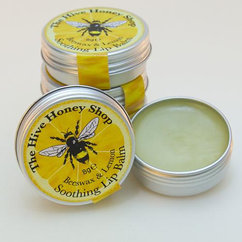 English Beeswax & Lemon lip balm