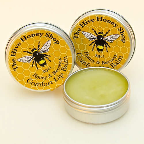 English Honey & Beeswax lip balm