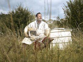 The Original Hive Honey Shop London beekeeper