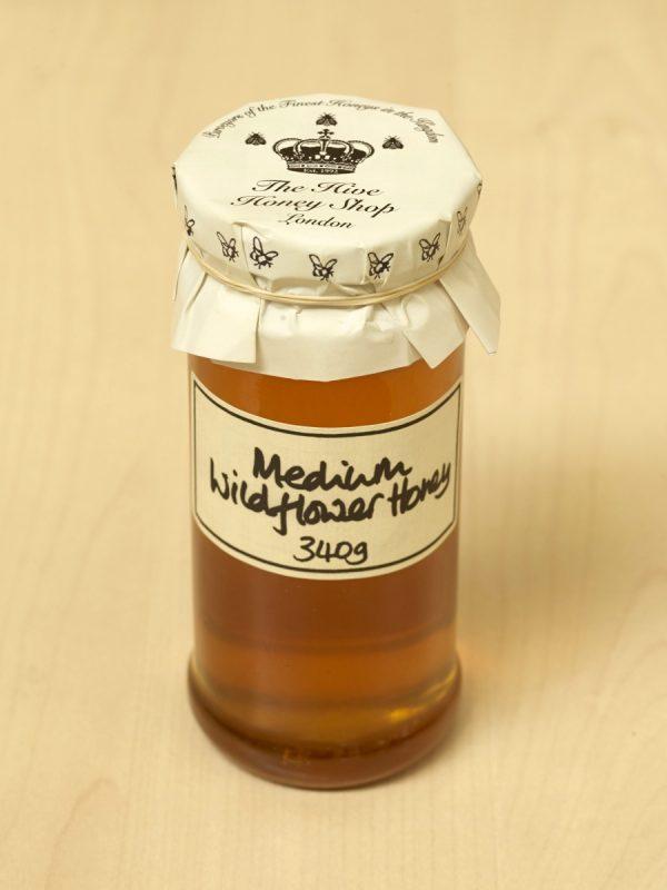 Raw English Medium Wildflower Honey