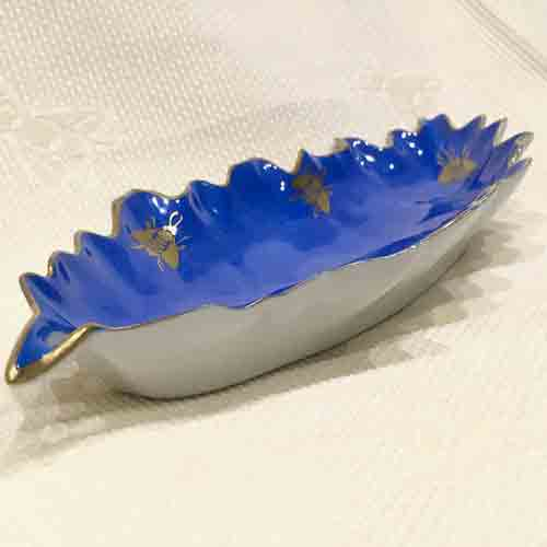 Belvedere Limoges Hors d'oeuvre 'Royal Bee' Dish