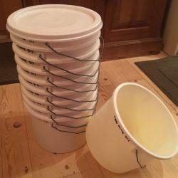 30 lb Honey Buckets