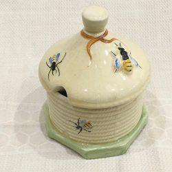 English Crown Devon 'Bees' Honeypot -circa 30/40s