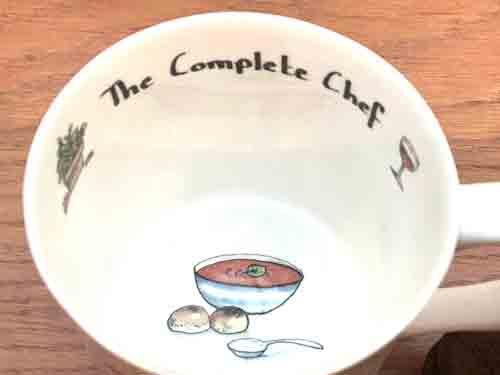 Bone China Mug- 'The Complete Chef'
