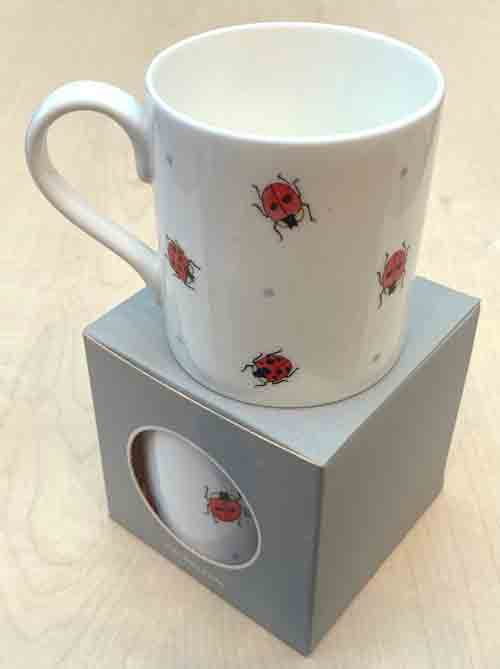 Bone China Mug- 'Little Ladybirds'