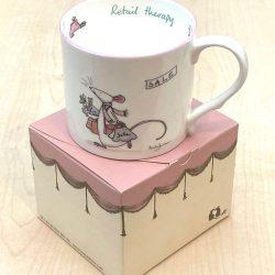 Bone China Mug- 'Retail Therapy'