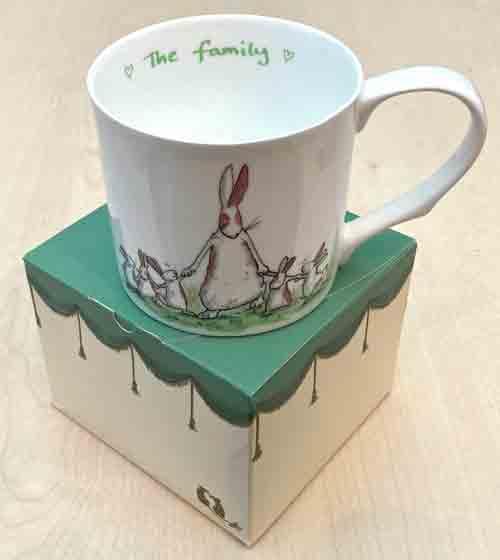 Bone China Mug- 'The Family'