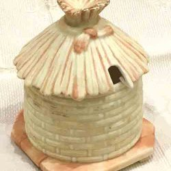 Rare English 1890s Locke & Co Worcester Honeypot