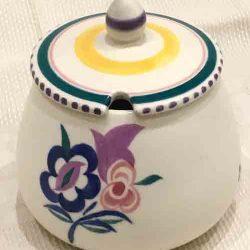 Vintage Bulbous Poole Pottery Honeypot c. 1960s