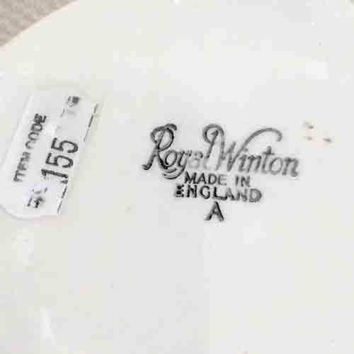 1930s English Royal Winton 'Beehive' honeypot